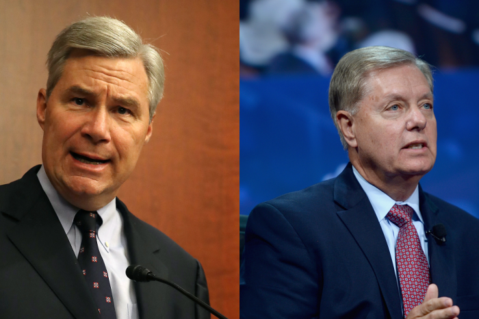A bipartisan pair of Senators is demanding an answer on alleged wiretapping — and they're ready to take it to court