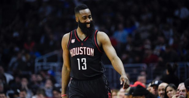 Harden had trouble keeping up with his Kardashian, but he can't slow down in Houston