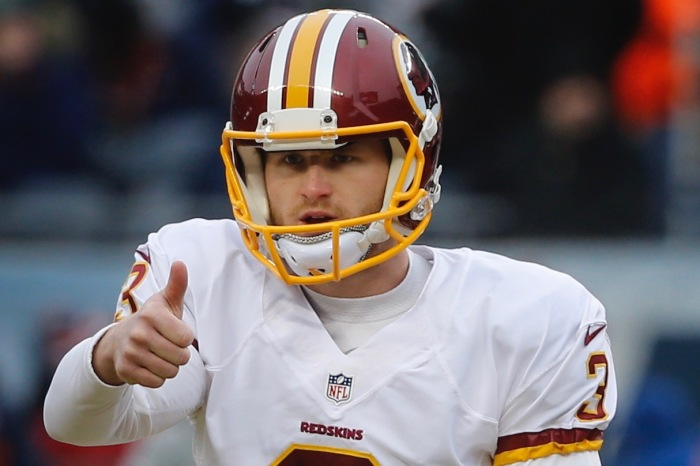 Houstonian-turned Redskins kicker loses two wide receivers, but gains a baby
