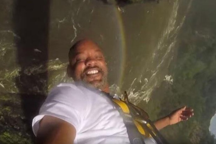People are freaking out over who Will Smith resembles in this post-bungee jump picture