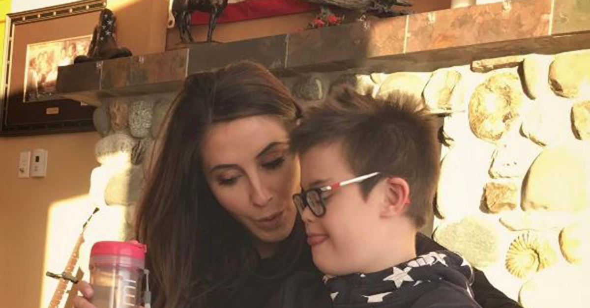 Bristol Palin Meyer shared an adorable photo with her brother Trig in honor of World Down Syndrome Day