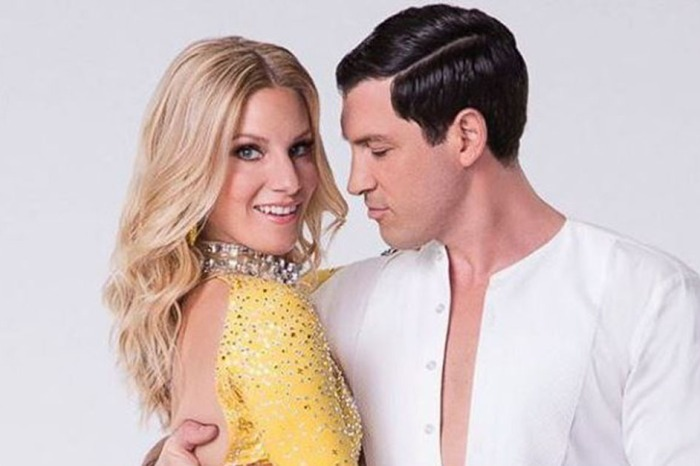 "Heather Morris opens up about the moment her ""DWTS"" partner Maks Chmerkovskiy was injured during rehearsals"