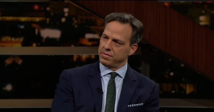 """On """"Real Time with Bill Maher,"""" Jake Tapper revealed the reason why he hasn't held back in his coverage of President Trump"""