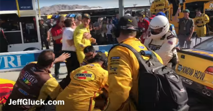NASCAR superstar reveals what really happened during that brawl