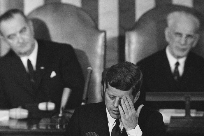 President Trump channelled President Kennedy in last night's joint session address