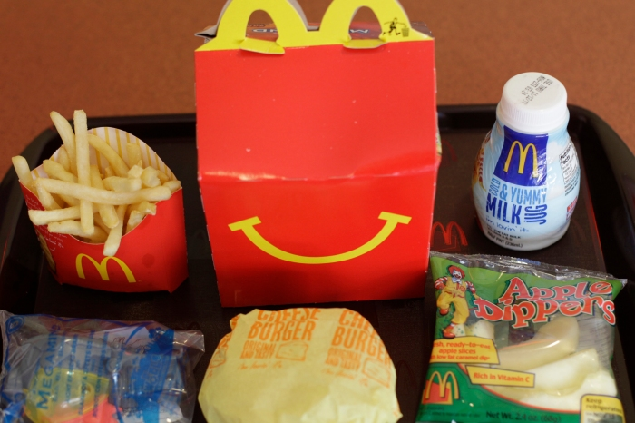 Which fast food kids' meals are healthiest and which are total calorie bombs?