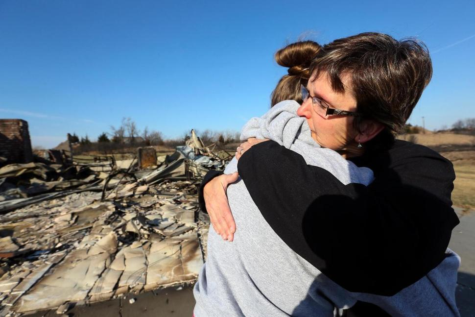 Much needed relief comes for the wildfires in the Midwest