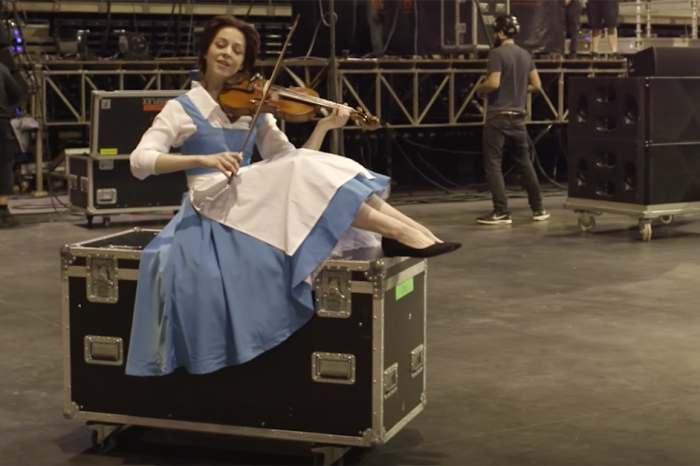 "Lindsey Stirling's violin performance of a Disney classic from ""Beauty and the Beast"" is absolutely stunning"