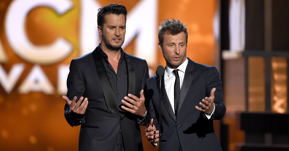 Luke Bryan has the perfect response to curb a potential ACM Awards mishap