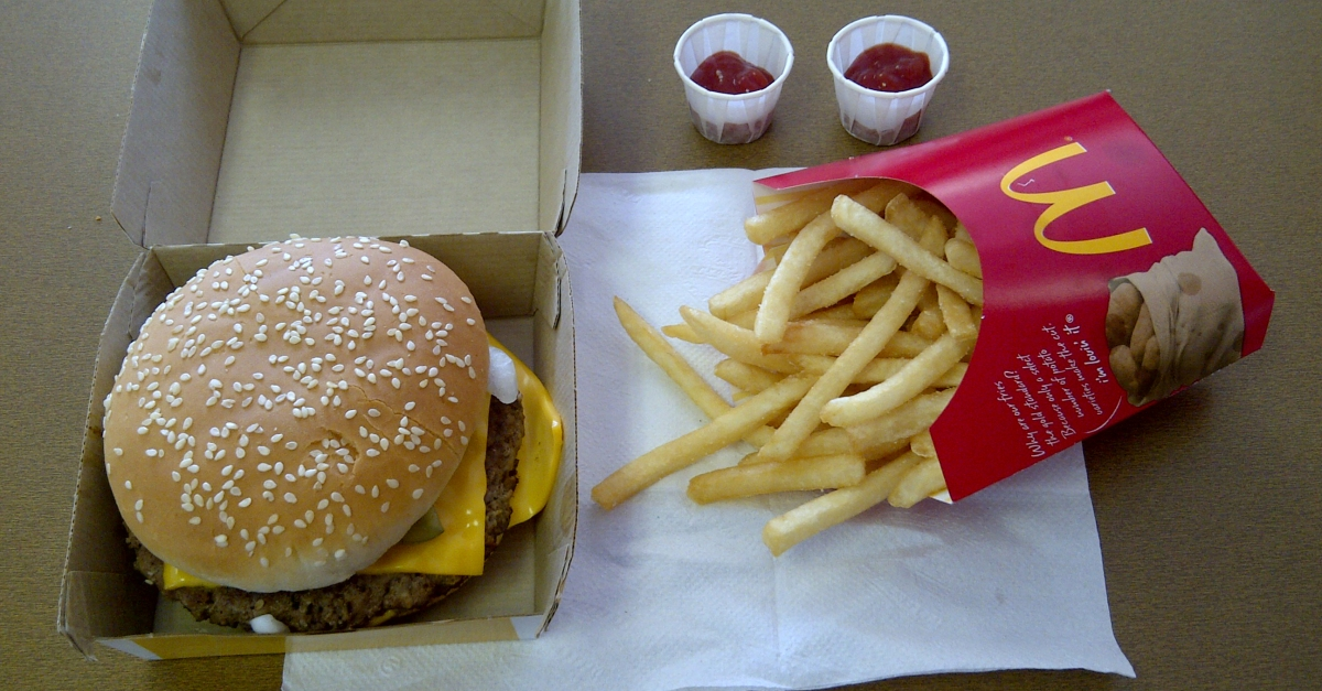 We finally know what's behind President Trump's obsession with McDonald's