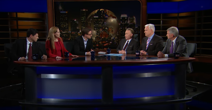 """Real Time with Bill Maher"" panel explodes when the host defends Christians while discussing Islamic terrorism"