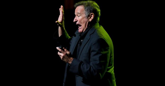 Remembering Robin Williams Cheer Up NASA's STS-26 Crew on Space Shuttle Discovery