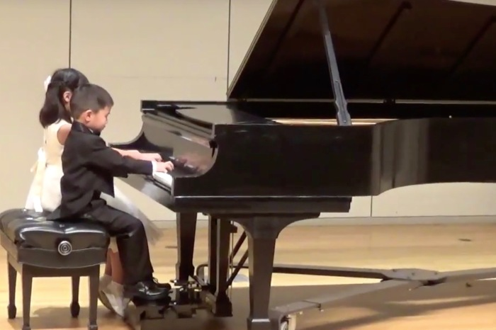 Move over, Mozart!  History's newest premiere pianists are among us, and they're right here in Houston