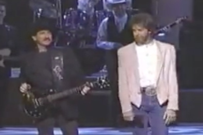 Brooks & Dunn set the standard for country music duos with this performance