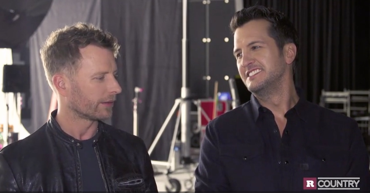 Luke Bryan explains why it's one big party when country comes to town
