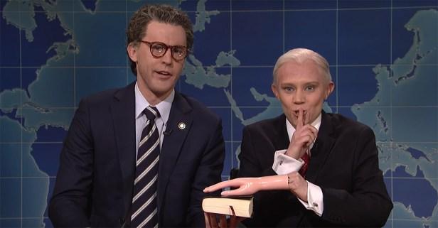 "Al Franken and Jeff Sessions, secret best friends, visit ""Weekend Update"""