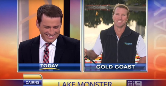 This Australian news interview with a shark specialist went off the rails in hilarious fashion