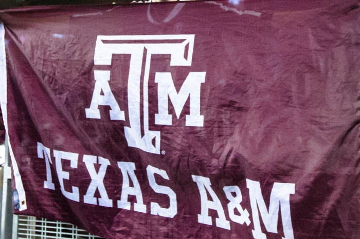Texas A&M University is relieving Harvey survivors, first responders, and volunteers with a football free-for-all