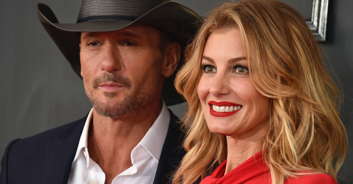 Tim McGraw and Faith Hill say their daughter hung out with a late superstar's ghost