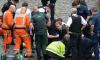Tobias Ellwood during London attack