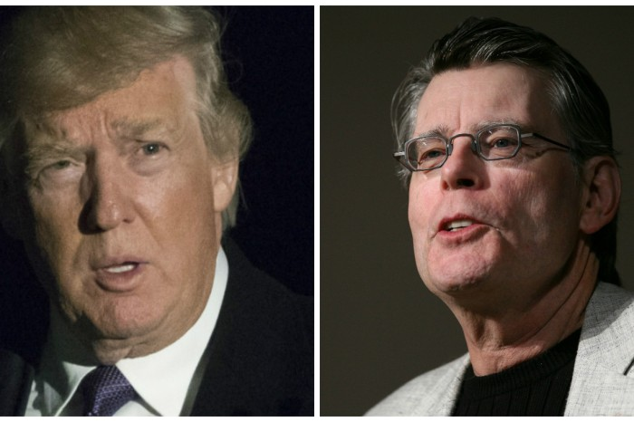 Stephen King pokes fun at President Trump after he claimed his phones were tapped by former President Obama
