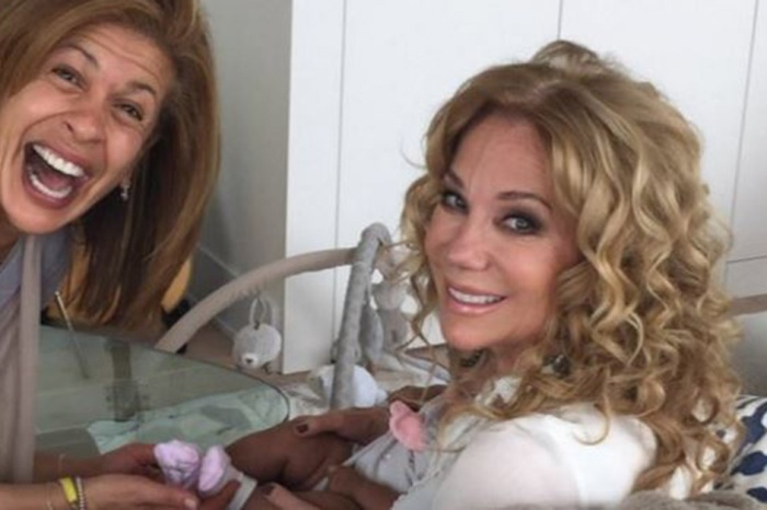 Hoda Kotb's baby girl finally met her on-air BFF Kathie Lee Gifford and it couldn't have been cuter
