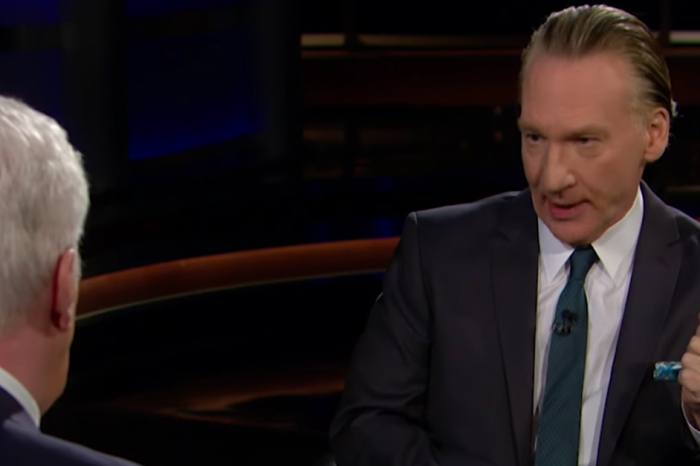 Things got heated when Bill Maher sat down with one of President Trump's biggest cheerleaders