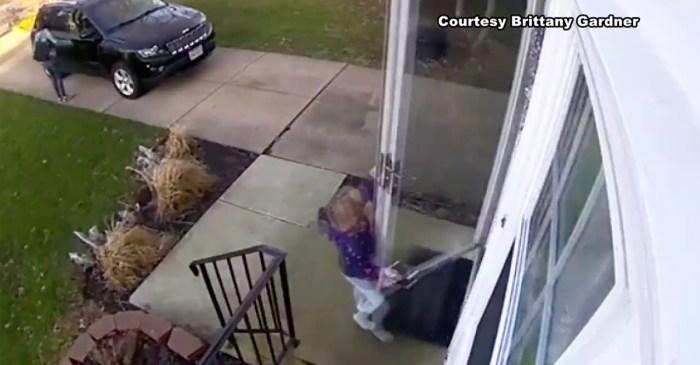 Meet the little girl whose windstorm mishap became a viral sensation