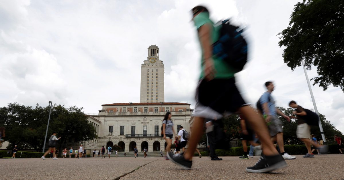 Universities in Texas are reportedly seeing a spike in campus sexual assault