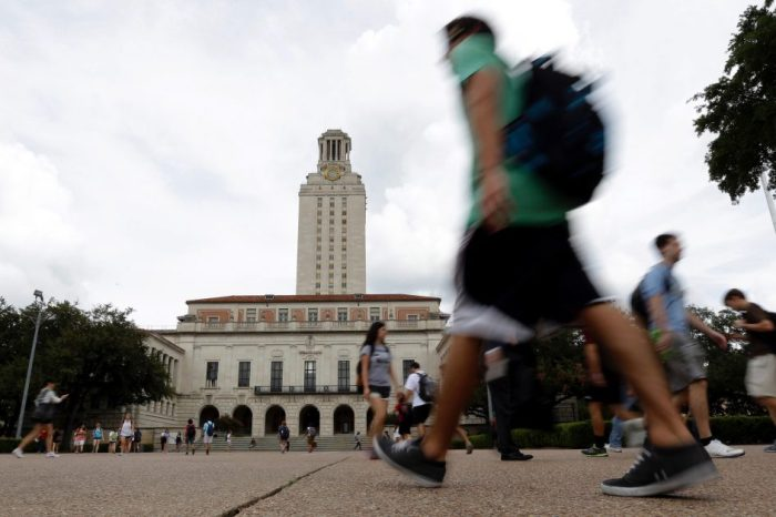 Alleged white supremecists stake out the University of Texas campus only to be left with no climax