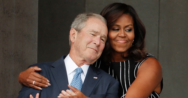 George W. Bush Gushes About His Friendship with Former First Lady Michelle Obama