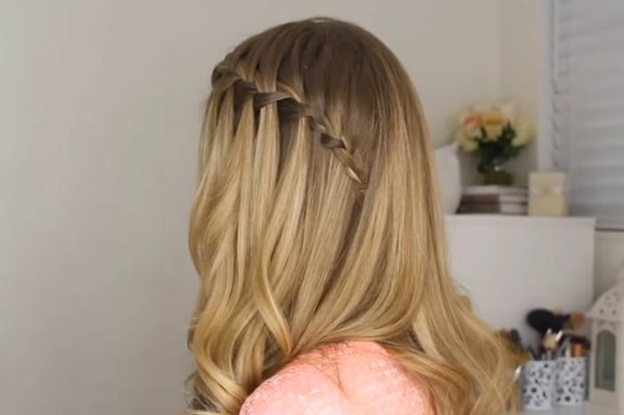 Mastering the waterfall braid isn't so hard — all it takes is a good tutorial and a little practice