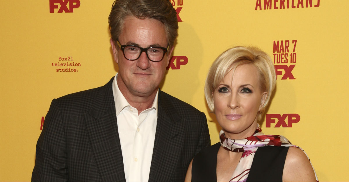 Joe Scarborough and Mika Brzezinski may be getting closer to confirming the relationship news fans have always hoped for