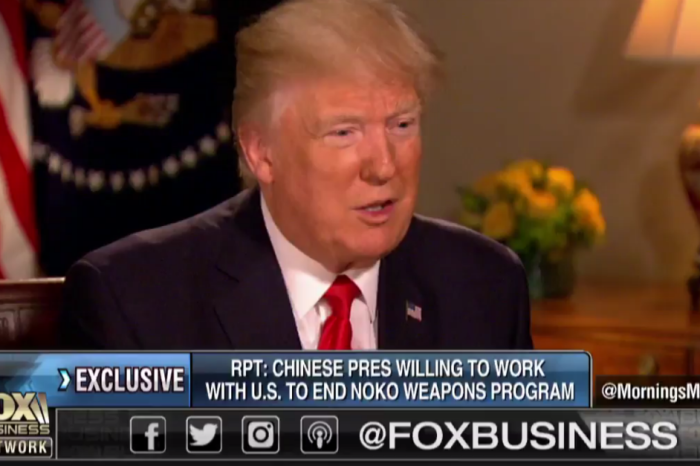 President Trump recalls the moment he told the Chinese president about the U.S. airstrike in Syria