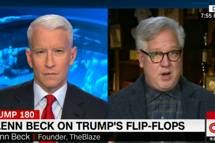 """Glenn Beck says that President Trump is """"on the verge"""" of looking like just another Republican president"""