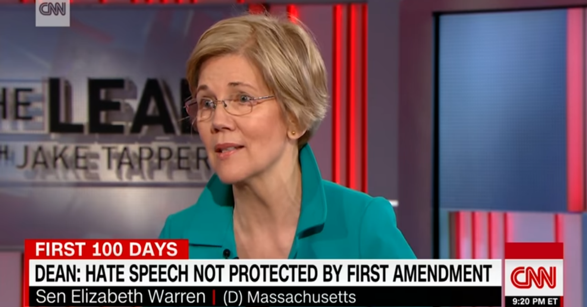 Ann Coulter's speaking event at UC Berkeley gets support from an unlikely source — Elizabeth Warren