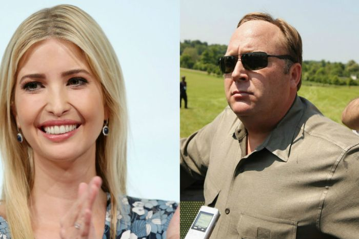 Ivanka Trump receives criticism from a most unlikely source — Alex Jones