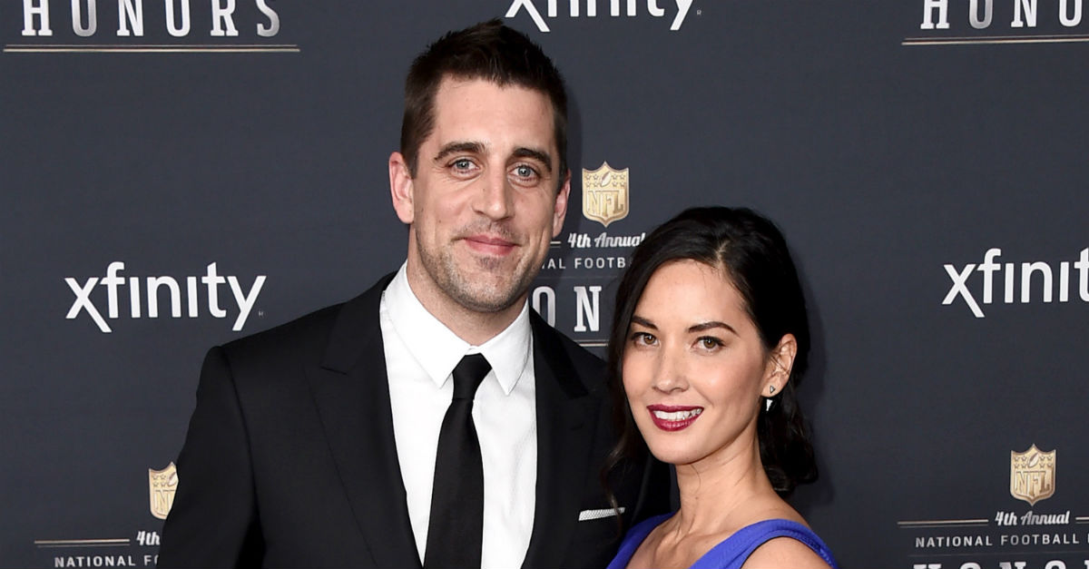There's some bad news for fans of Aaron Rodgers and Olivia Munn