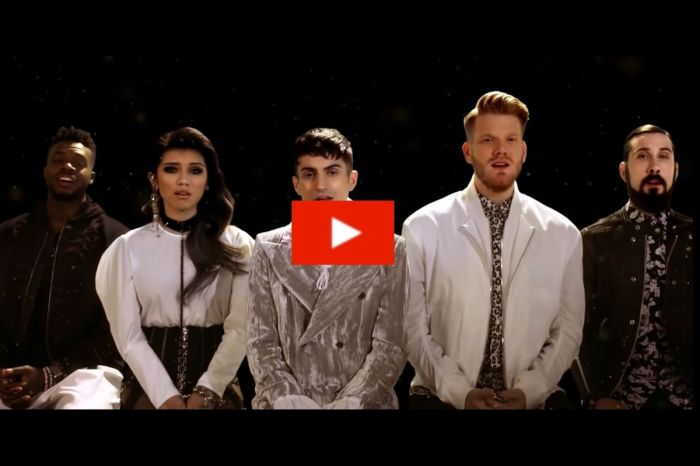"Pentatonix's Romantic Take on Elvis' Hit ""Can't Help Falling In Love"" Is Flawless"