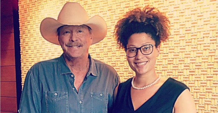 Alan Jackson's surprise encounter with a pretty young girl stirs up sweet memories