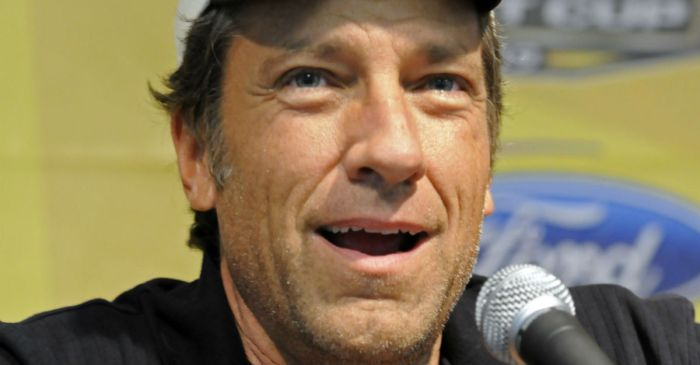 Mike Rowe blasts a luxury department store selling muddy jeans for an absurd price