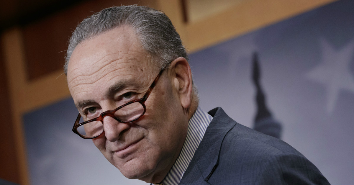 Today was a dark day in the Senate, one Chuck Schumer will come to regret