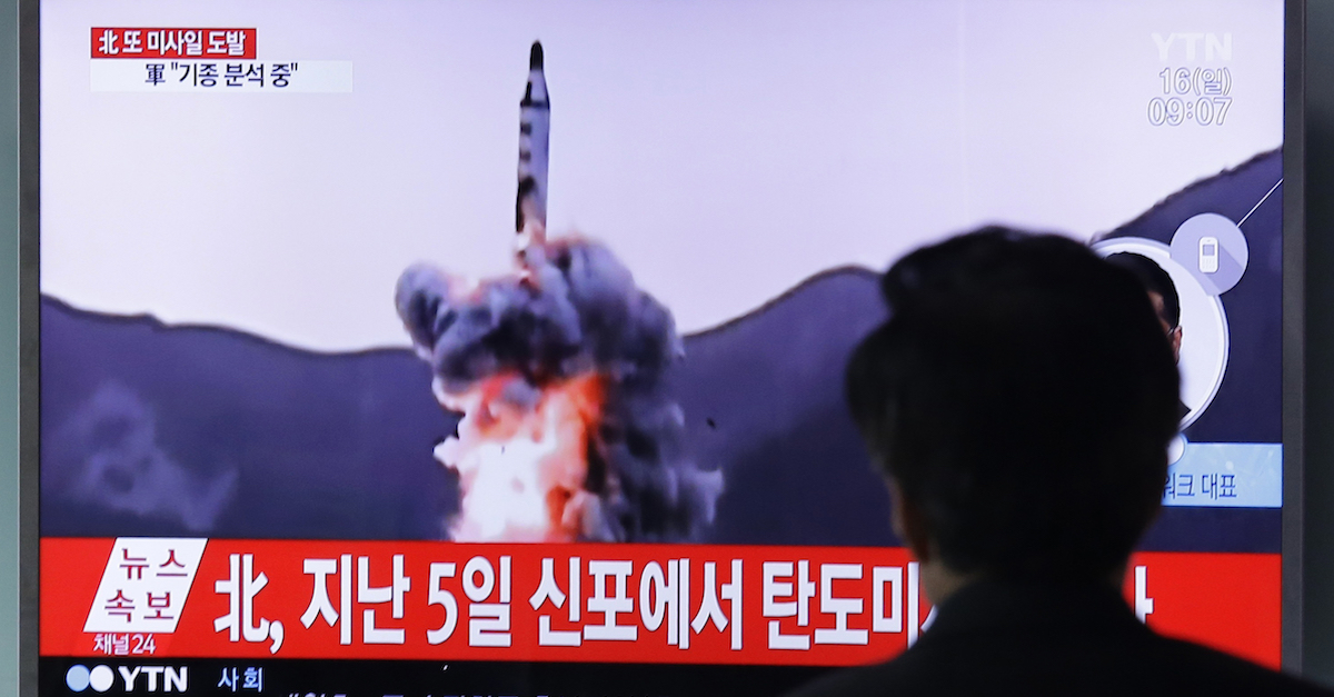 Just after showing off its missiles, a North Korea test launch failed in spectacular fashion