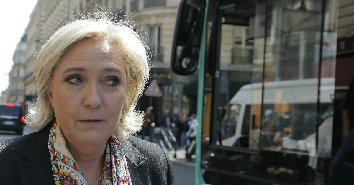 There was a conservative in Sunday's French presidential race and it wasn't Marine Le Pen