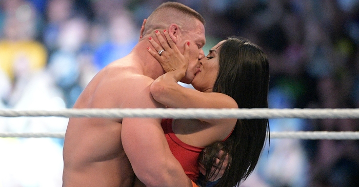 Pro wrestler John Cena really stole the show at Wrestlemania with this super romantic moment