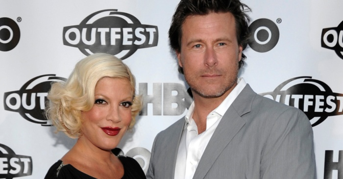Police rushed to Tori Spelling's home after a frantic caller dialed 911