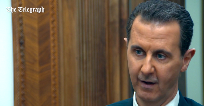 Syrian President Bashar al-Assad makes a stunning statement about the chemical attacks