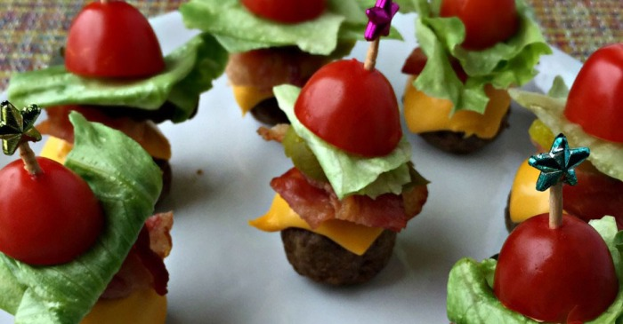 Nobody can resist these easy 5-ingredient bacon cheeseburger meatballs