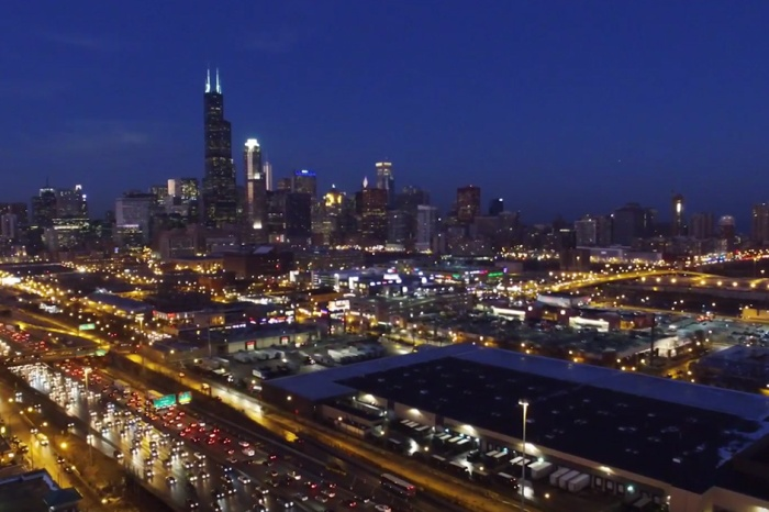 A videographer captured drone footage of Chicago and the suburbs and it's everything about why we love this city