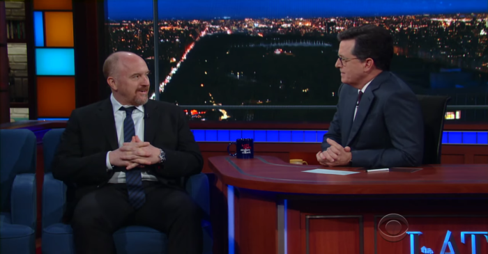 Louis C.K. and Stephen Colbert take a trip down memory lane